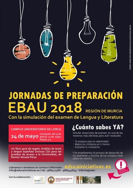 JORNADAS PREPARACIÓN EBAU 2018
