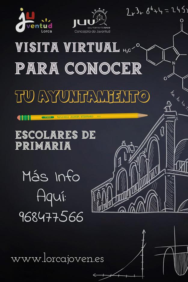 """El Ayuntamiento de Lorca pone en marcha el programa virtual """"Conoce tu Ayuntamiento"""" para alumnos de primaria"""