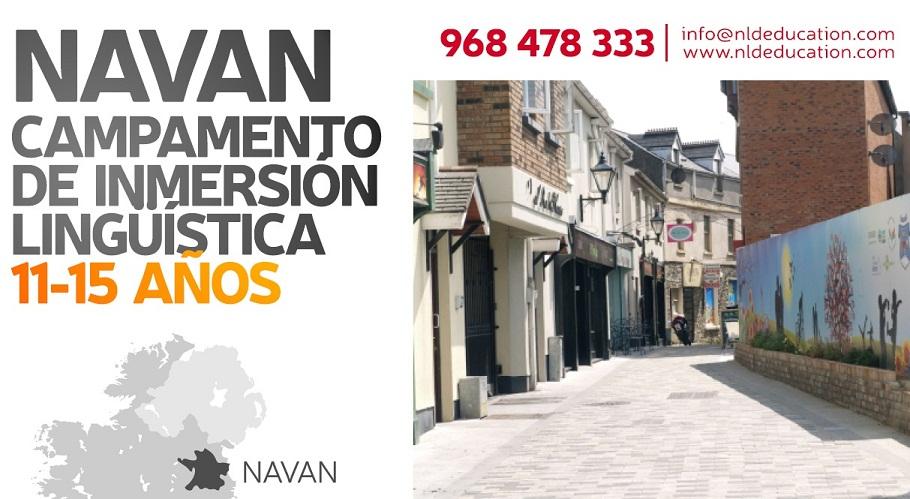 Cursos y Campamentos de Idiomas en Navan. Descuento inscripciones en Lorca