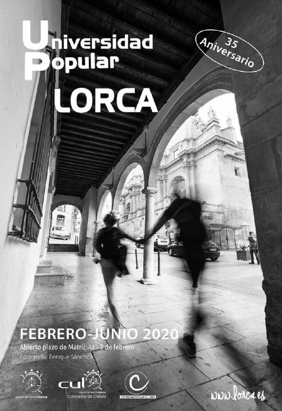 Cursos de la Universidad Popular de Lorca. Febrero-Junio 2020