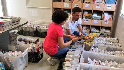 El Banco Municipal de Intercambio de Libros de Texto ha beneficiado este año a 3.086 familias lorquinas, que se han ahorrado más de 110.000 euros