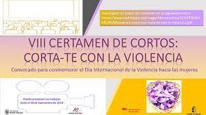 """VIII Certamen de Cortometrajes """"Corta-te con la Violencia"""""""