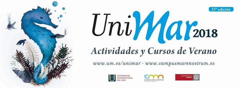 ACTIVIDADES Y CURSOS DE VERANO. UNIMAR 2018. UNIVERSIDAD DE MURCIA