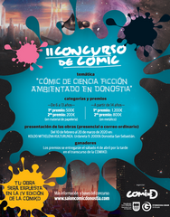 II Concurso de Cómic de Ciencia Ficción Ambientado en Donostia-San Sebastián