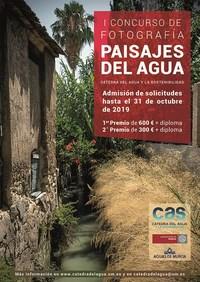 I Concurso de Fotografía Paisajes del Agua, de la Cátedra del Agua y la Sostenibilidad (CAS)