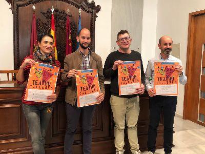 Talleres de teatro organizados por la Concejalía de Juventud en los IES de Lorca.