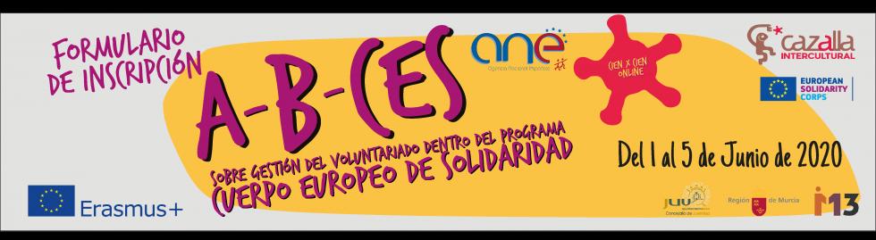 Curso presencial online sobre gestión del voluntariado dentro del Programa Cuerpo Europeo de Solidaridad