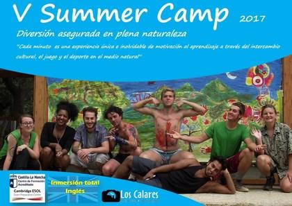 V SUMMER CAMP 2017. Campamento de inmersión Inglés Yeste-Albacete. Los Calares