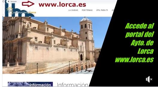 Tutorial para pedir cita previa a los servicios de juventud a través del portal del Ayto. de Lorca.