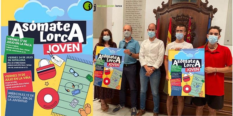 Asómate a Lorca JOVEN 2020 se iniciará en diputación de La Paca con muestras de grafiti, skate y parkour.