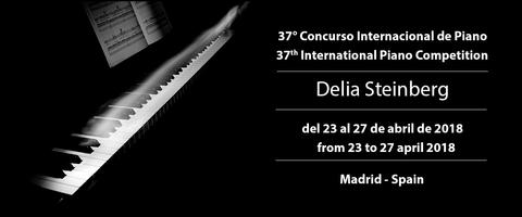37° Concurso Internacional de Piano Delia Steinberg