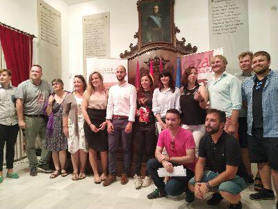 """Lorca celebra durante estos días un encuentro internacional dentro del proyecto europeo """"""""Cities of Learning"""""""" en el que participa el Consistorio junto a Cazalla Intercultural y socios de otros seis países"""