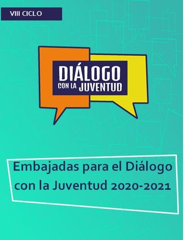 Embajadas para el Diálogo con la Juventud 2020-2021
