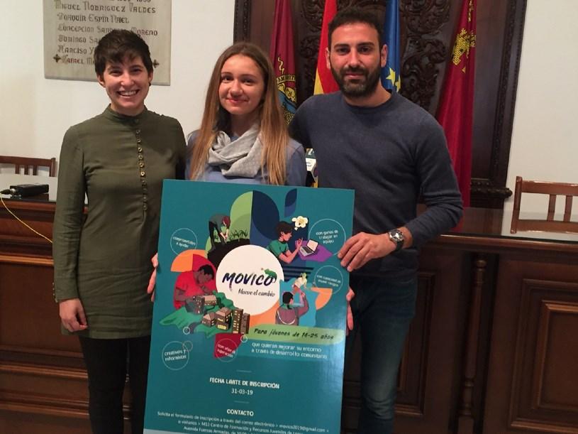 Cazalla Intercultural pone en marcha el proyecto Movico con el objetivo de implicar a jóvenes lorquinos en acciones de participación social que potencien su creatividad y pensamiento crítico