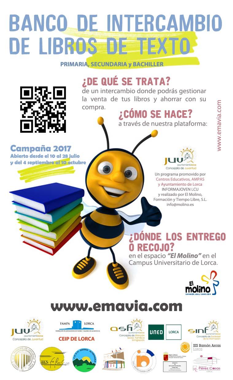 La Concejalía de Juventud pone en marcha la cuarta edición del Banco de Intercambio de Libros de Texto para estudiantes de primaria y secundaria del municipio