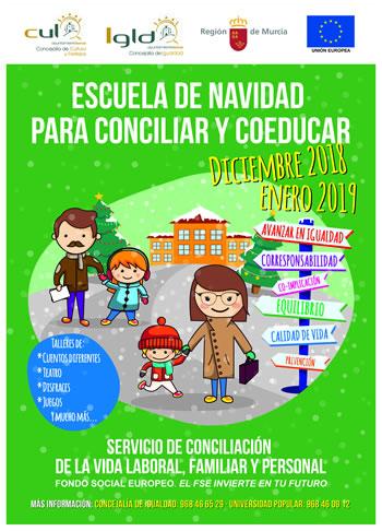 ESCUELA DE NAVIDAD PARA CONCILIAR Y COEDUCAR. Diciembre 2018