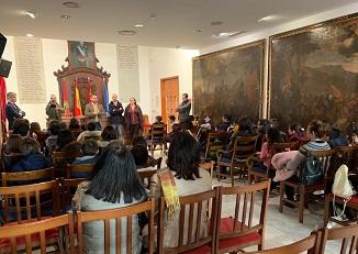 """Curso escolar 2019/2020 """"Conoce tu Ayuntamiento"""" dirigido a centros escolares desde juventud."""